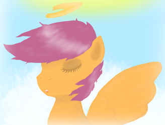 Scootaloo: Torn Angel