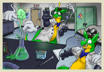 Hands-On Chemical Spills (2/5) -C-
