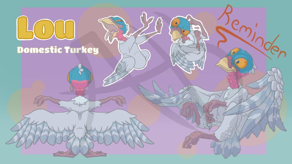 Most recent image: Turkey Adopt + Telegram Stickers!