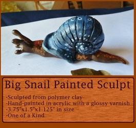 Big Miniature Snail Sculpture (for sale)
