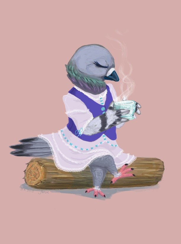 Most recent image: Pigeon