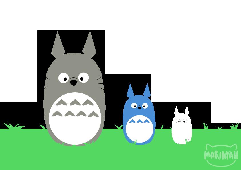 Most recent image: Totoro