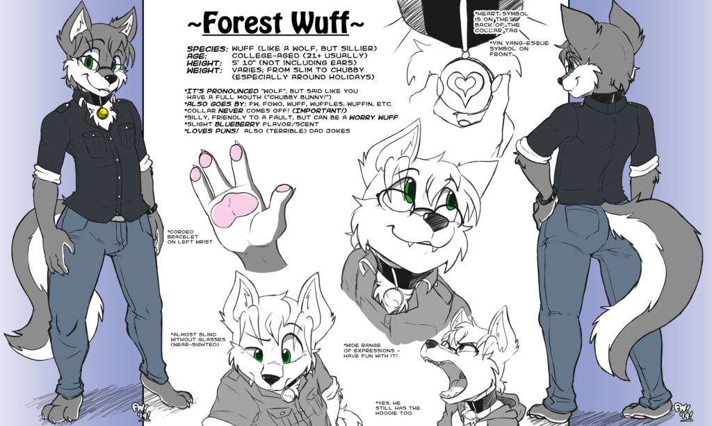 Most recent image: Forest Reference Sheet (2019)