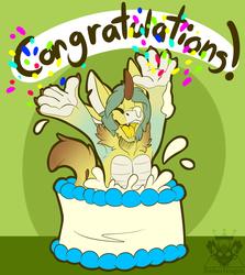 Com- Congratulations!