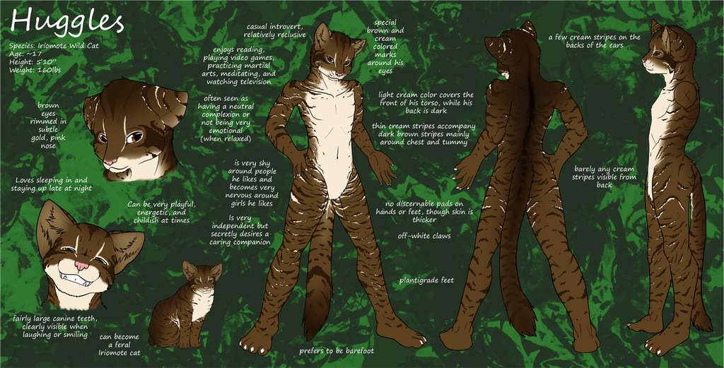Most recent image: Huggles Reference Sheet