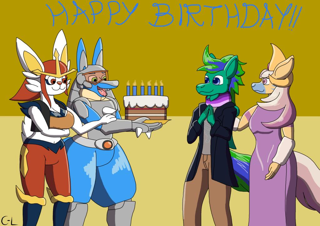 [Gift] Happy Birthday Gale