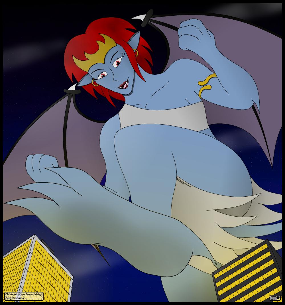 Demona's Mega-City Stomp