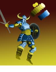 blue knight progress