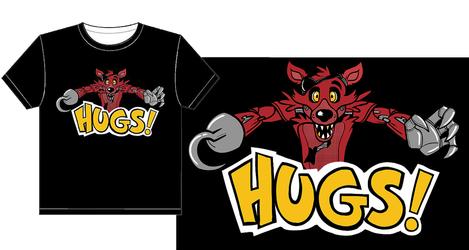Foxy Hugs - the shirtening