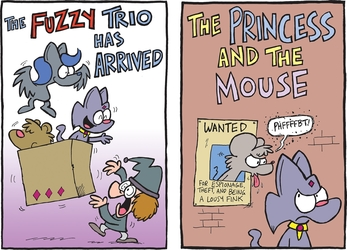 The Fuzzy Princess Kickstarter: Title Pages!
