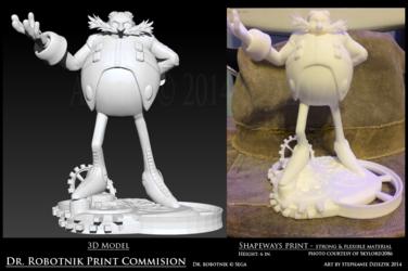 Dr. Robotnik - The 3D Print
