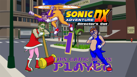 Sonic Adventure DX Title Card