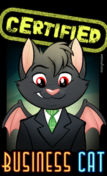 [Commission] Certified Business Cat