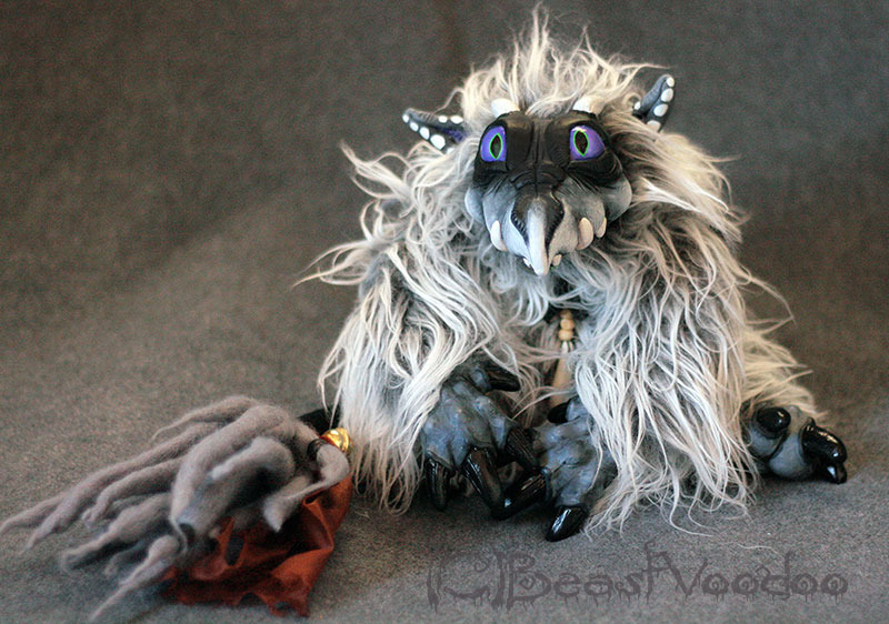 Sot the youngling ash dragon doll