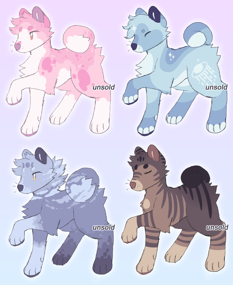 Most recent image: Shiba Adopts [4/4 OPEN]