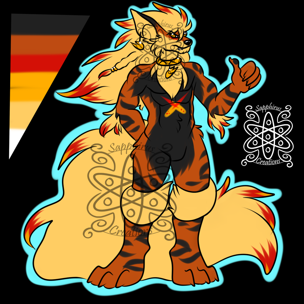 Meteor Male Arcanine +Design+ (SOLD)