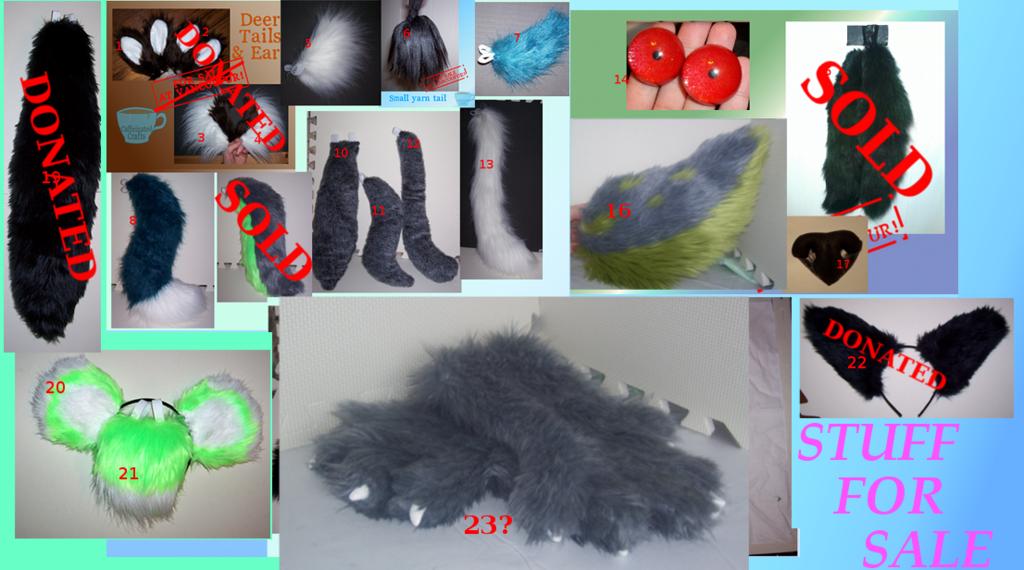 Fursuit stuff for sale