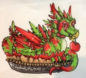 Cherry Pie Pot Dragon