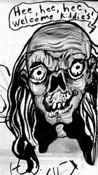 Caricature from the Crypt
