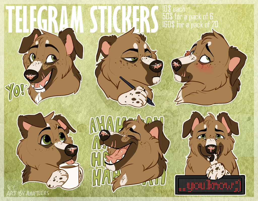 Most recent image: Telegram Sticker Commissions