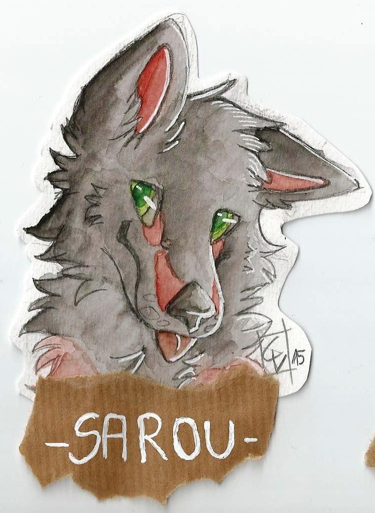 Headshot Badge Commission: Sarou