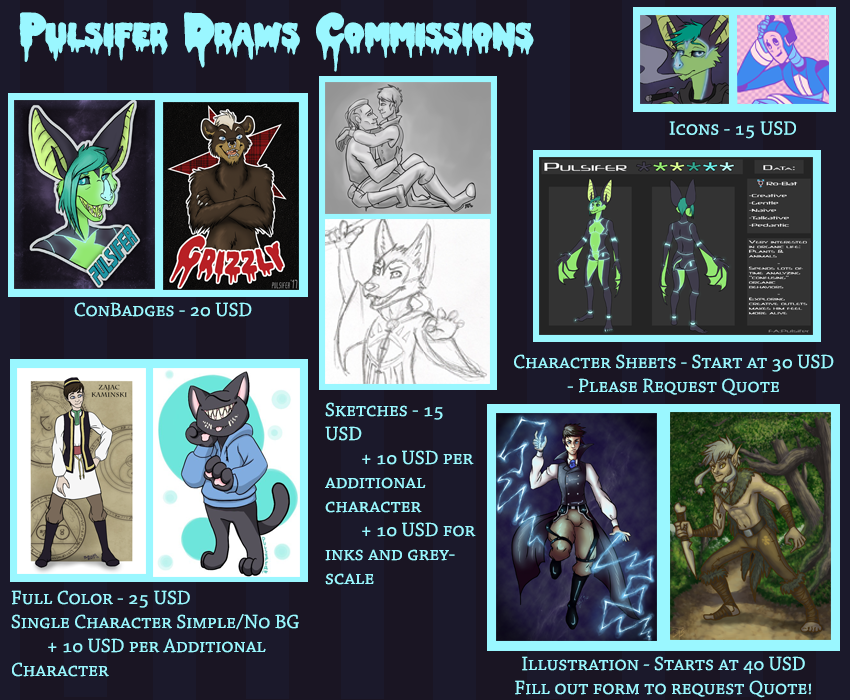 Pulsifer Draws Commissions!