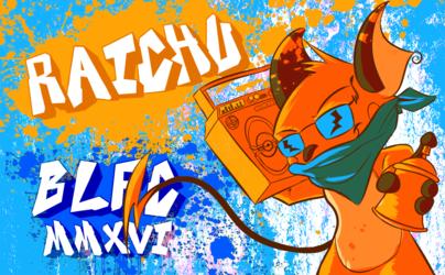 Raichu BLFC 2016 Badge