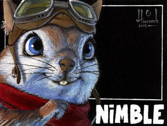 Nimble the Flying Squirrel