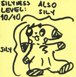 Technical Analysis - Sticky Note Doodle