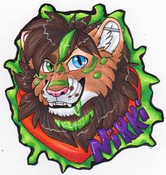 BLFC badge - Nikki