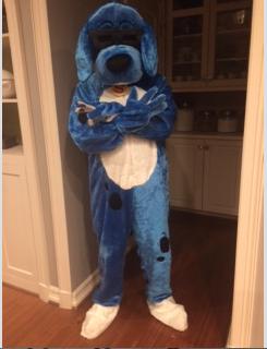 Most recent image: Blue Dog Fursuit