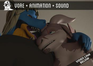 Raknar Eats Michael (Animation by Ante)