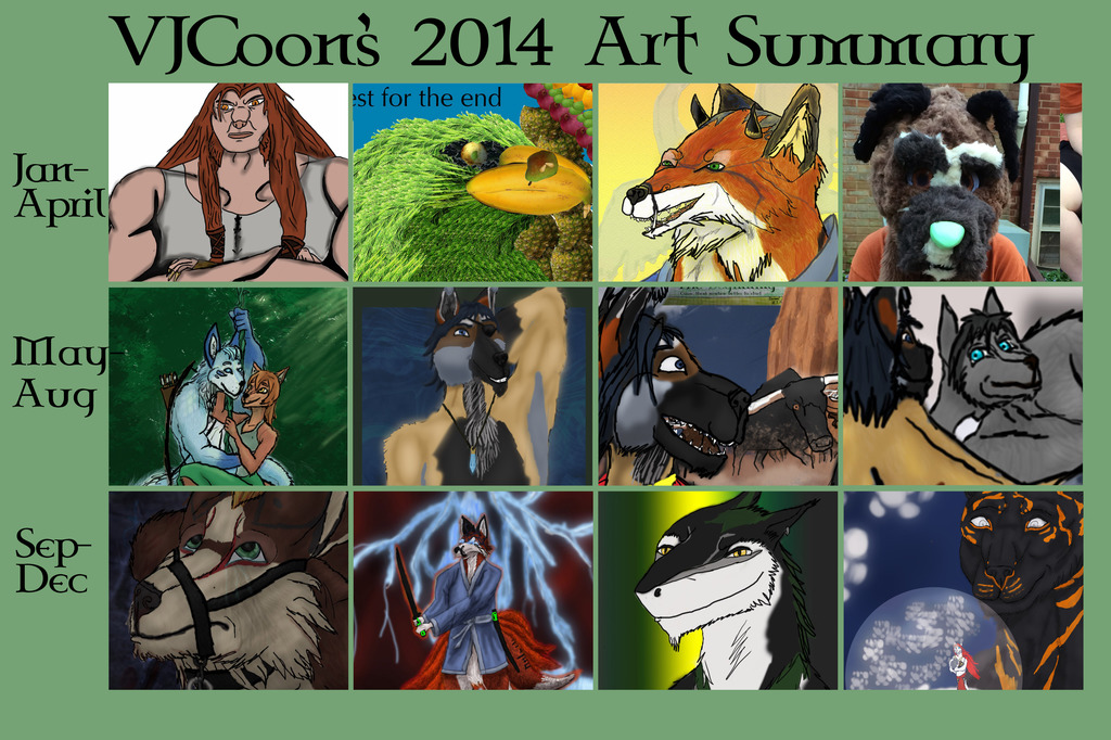 VJCoon's 2014 Art Summary