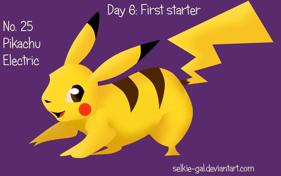 Pokeddex 2015 06: Pikachu