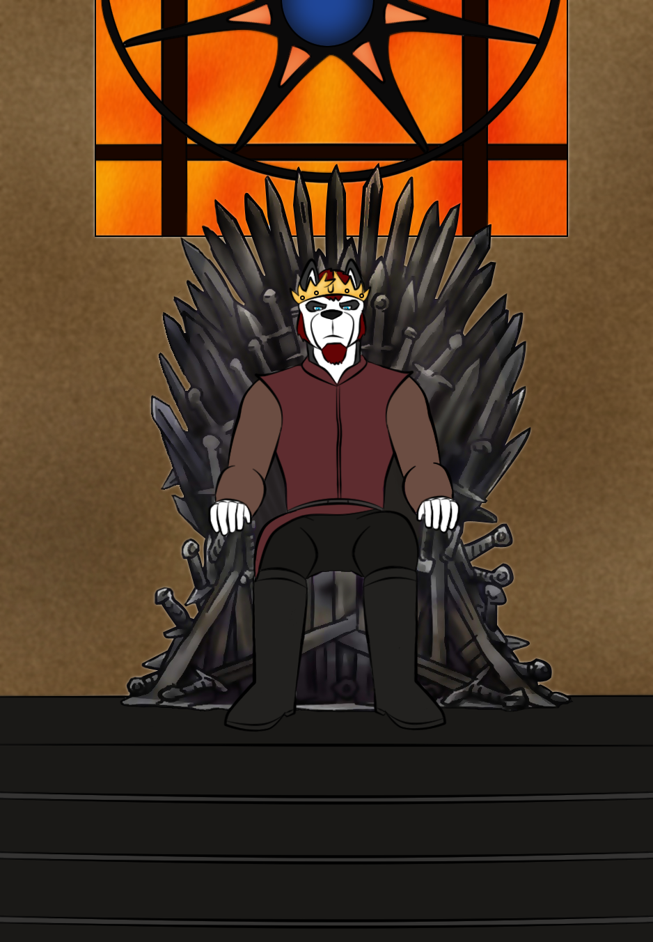 The Throne Is Mine