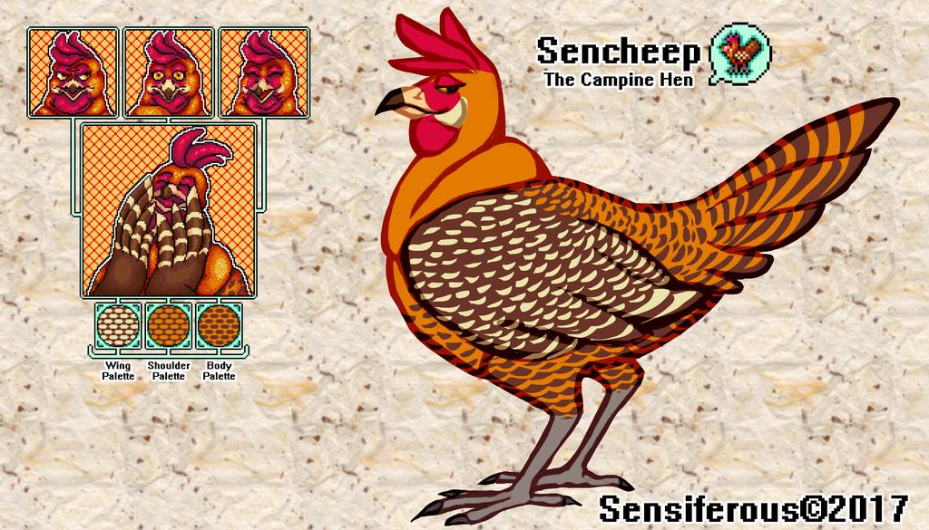 October '17: Chiksen Character Sheet