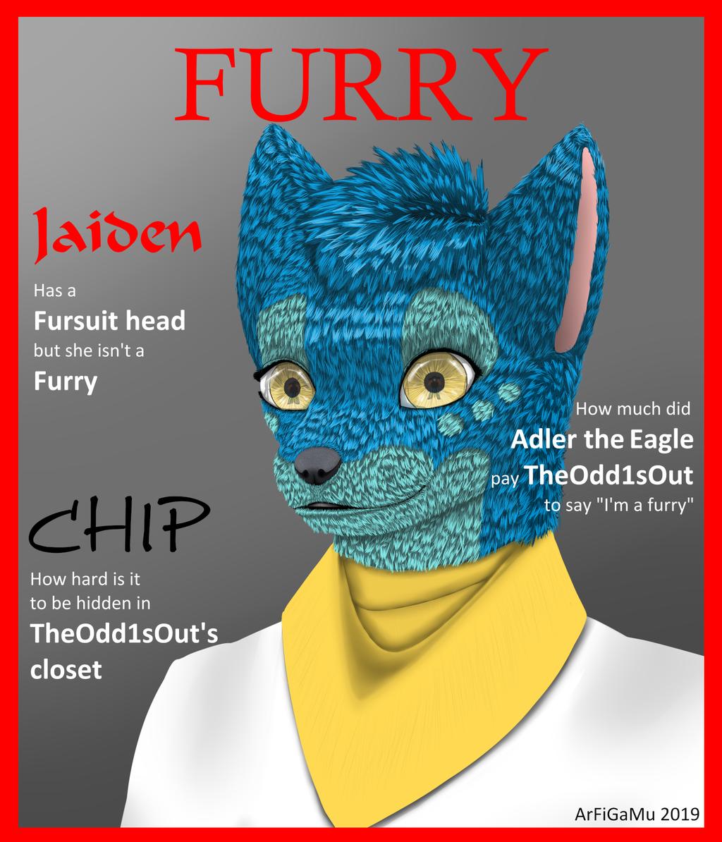 TheOdd1sOut birthday magazine cover