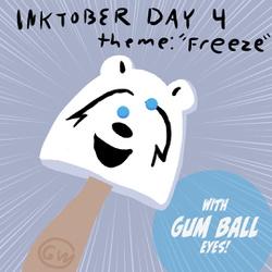 """Inktober Day 4 """"Freeze"""""""