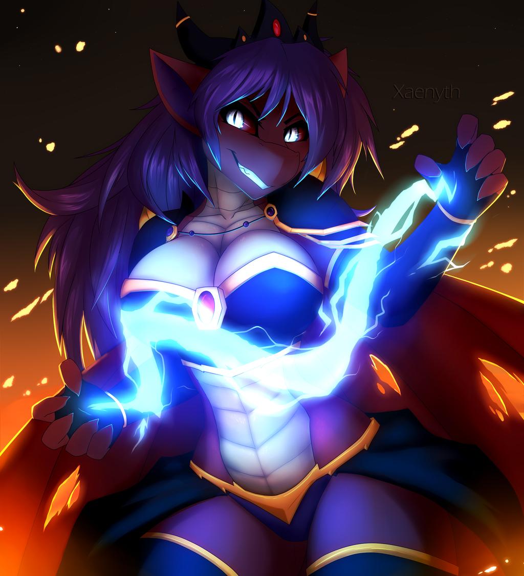 Sith Lightning by Xaenyth