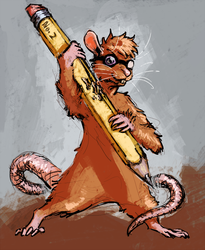 Sketch Commission - Sienna Rat