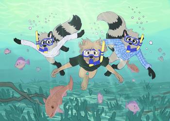 Snorkeling (by Klippy)