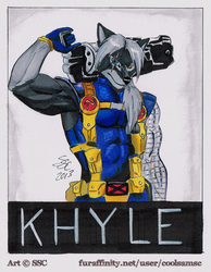 khyle Cable Badge
