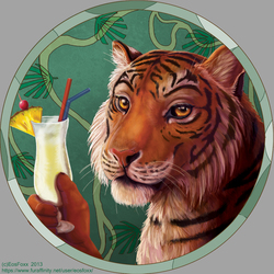 Tigers and cocktails - rework 2013