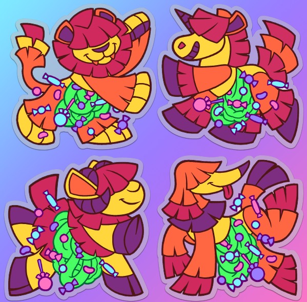 Candy Gore Pinata Sticker Designs Weasyl • also buy this artwork on apparel, stickers, phone cases, and more. candy gore pinata sticker designs