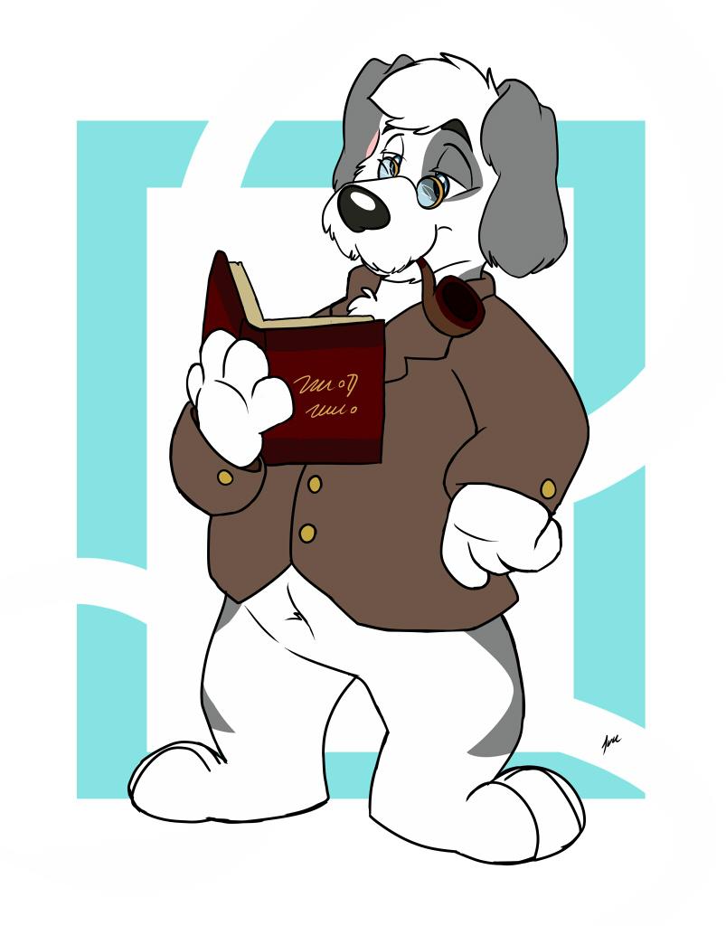 Book Hound by ArkOtter