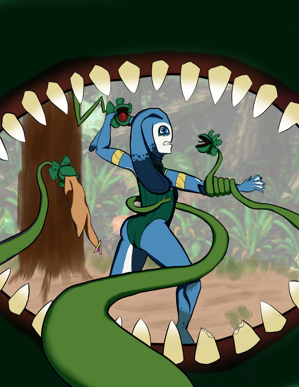 Most recent image: Doris Year One - Beware the Jungle Maw!