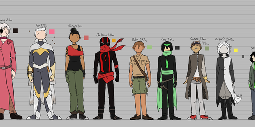 Height Comparison + Design Reference