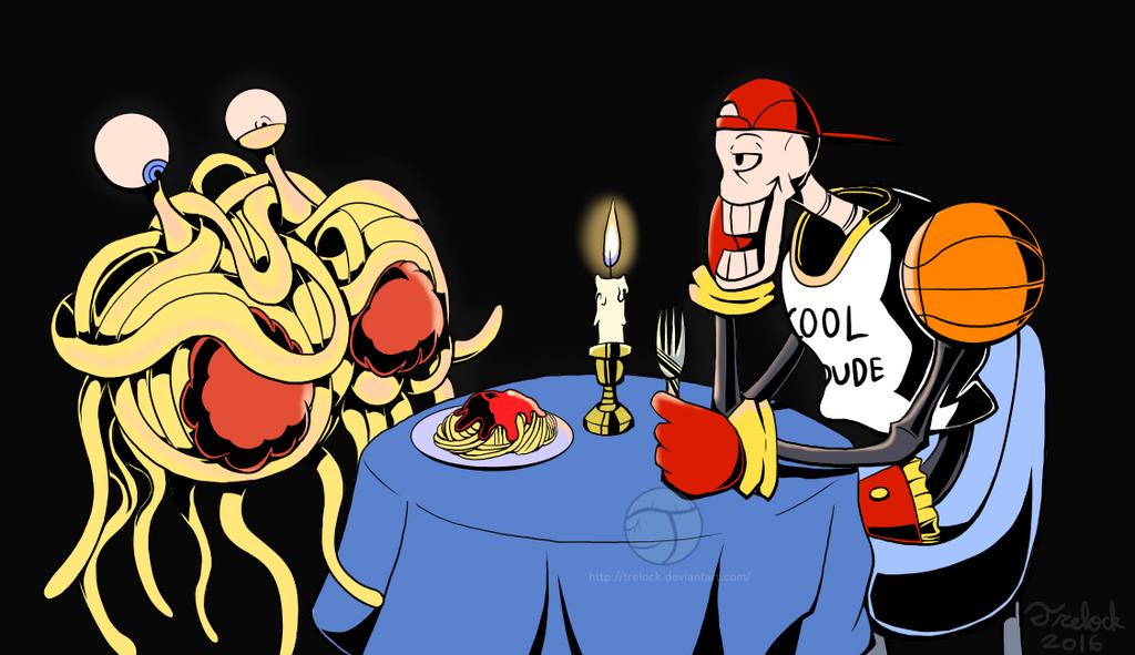 Papyrus' Dinner Date