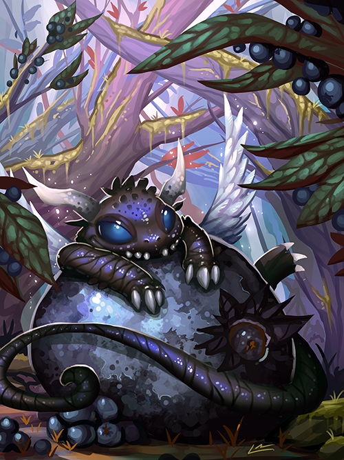 Most recent image: Blueberry Dragon