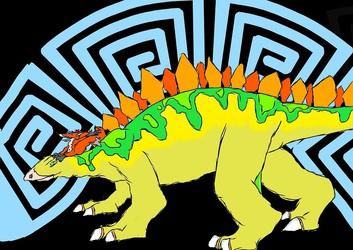 Screw you all I got a Stegosaurus